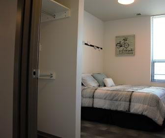 Bedroom, Canopy Lofts