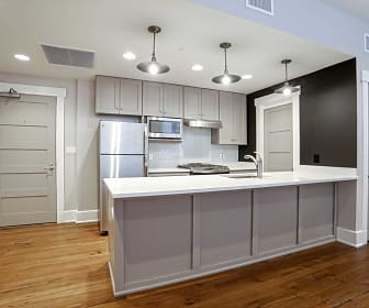 Kitchen, Good Counsel Apartments