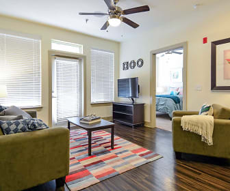 Living Room, The Domain At Waco Student Apartments