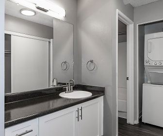 Bathroom, Bennington Apartments