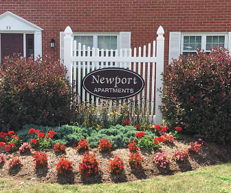 Community Signage, Newport Apartments
