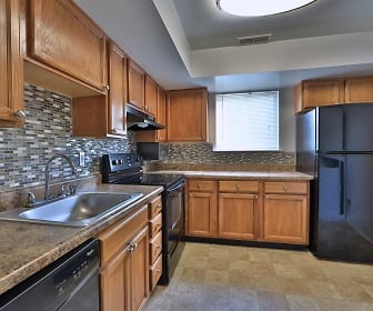 Kitchen, Willowood Apartment Homes