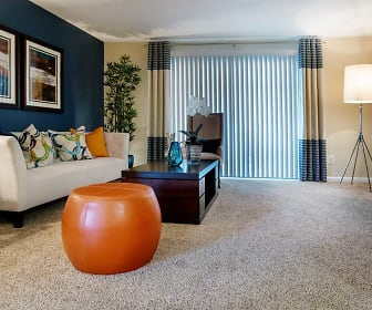 Living Room, Branchwater Apartment Homes