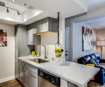 Kitchen, Greentree Apartments