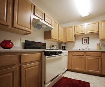 Kitchen, Canterbury Apartments