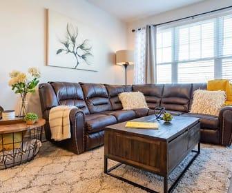 Living Room, HH Bath View Apartments