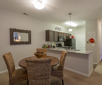 Dining Room, Steeplechase at Parkview Apartments