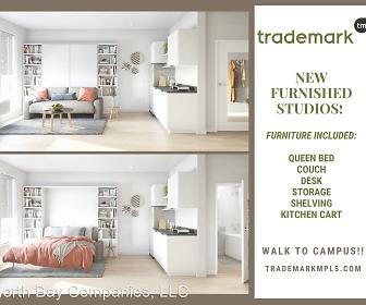 Trademark Apartments- Student Living, Dinkytown, Minneapolis, MN