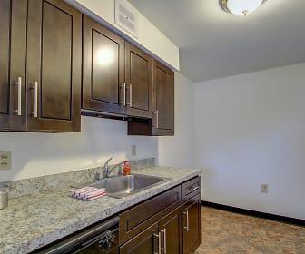 Kitchen, Portage Towers