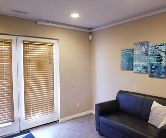 Living Room, Washington Townhomes