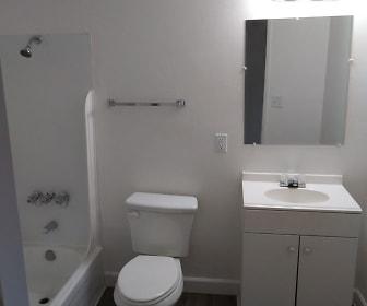 Bathroom, Orange Grove Apartments