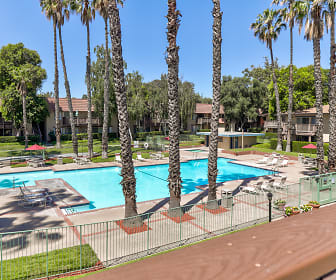Pool, Valley West Apartments