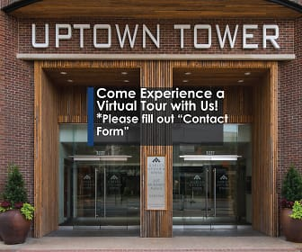 Community Signage, Gables Uptown Tower