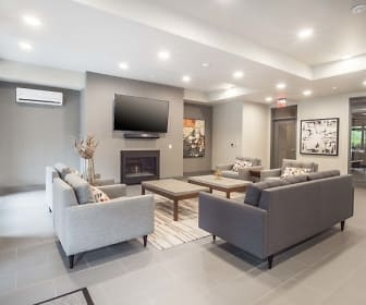 Living Room, Tabor View Lofts