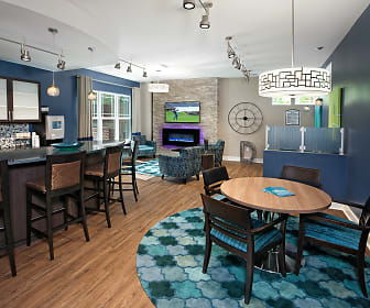 Media and Wi-Fi Lounge with Starbucks Coffee Bar, Bexley At Davidson