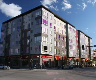 Building, East Bank Communities