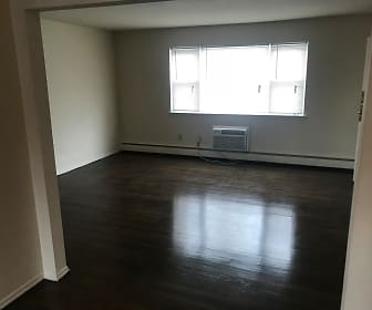 Upgraded living room for 2 bedroom, Orchard View Apartments
