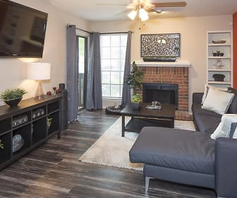 Living Room, Landmark at Prescott Woods Apartment Homes