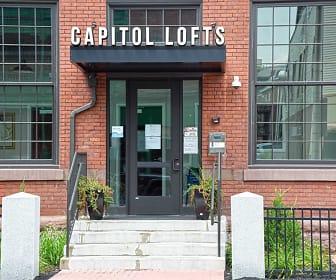 Community Signage, Capitol Lofts