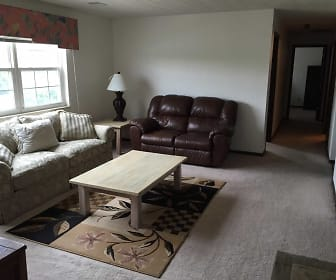 Living Room, Chesterfield Apartments