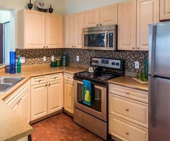 Kitchen, The Drexel at Oakley Apartments