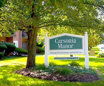 Community Signage, Carsonia Manor