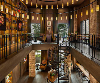 Library Lounge the Ashley Gables Buckhead, The Ashley Gables Buckhead