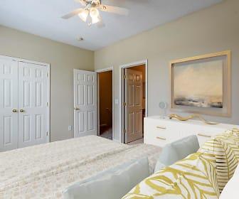 Bedroom, Falls Creek Apartments & Townhomes