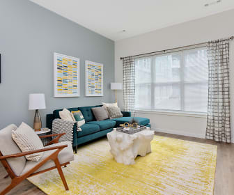 Bright and Spacious Living Area, The Q