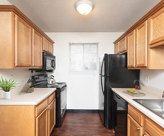 Kitchen, Waverlywood Apartments