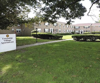 Community Signage, Township Village Apartments