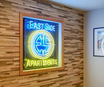 Community Signage, East Side Apartments