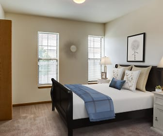 Bedroom, Town Center Apartments