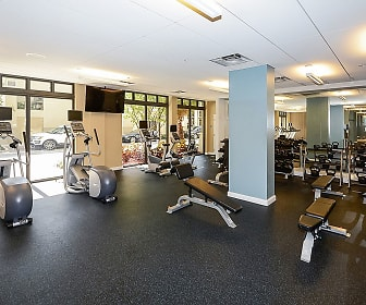 Fitness Weight Room, The Manor At Flagler Village