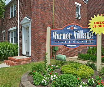 Community Signage, The New Warner Village Apartments