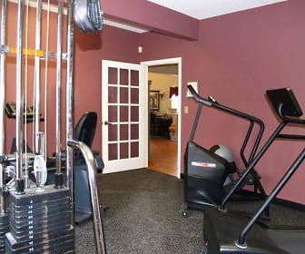 Fitness Weight Room, Woodfield Commons