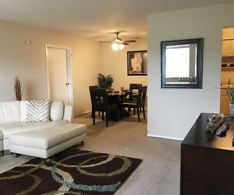 Living Room, Tamarac Apartments