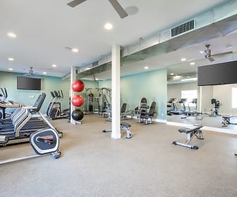 Fitness Weight Room, The Reserve at Carlsbad