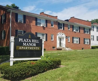 Community Signage, Plaza Hill Manor Apartments
