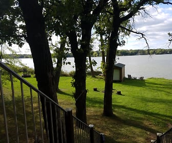 Lake View from Deck, 27364 Lakewood Dr NW
