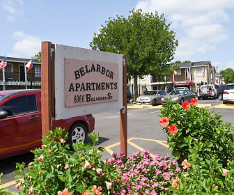 Community Signage, Belarbor Apartments