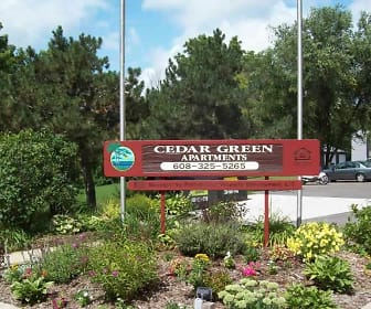 Cedar Green Apartments, Monroe High School, Monroe, WI