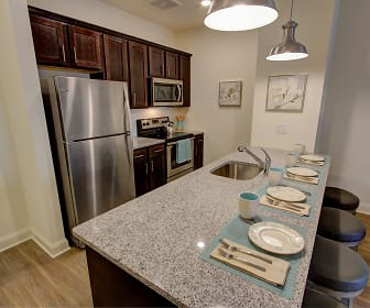 Stainless steel appliances, Carlton Hollow Apartments 55+