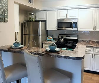 Kitchen, The Enclave at Huntington Woods