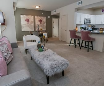 Living Room, Cedar Ridge Apartments