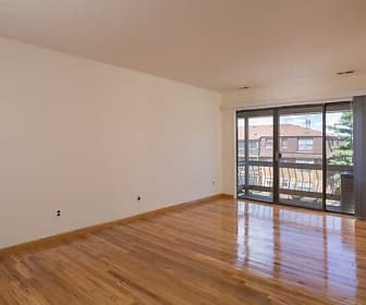 spare room with parquet floors and natural light, Waterside Village