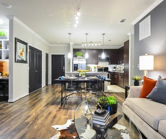 Living Room, The Abbey at Dominion Crossing
