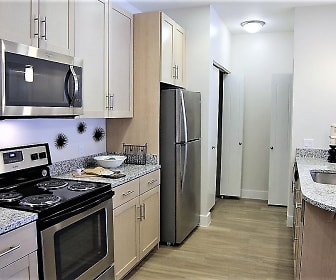 Kitchen, Mountain Trail Apartments