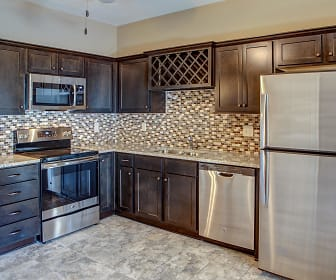 Kitchen, Eagle Creek Townhomes