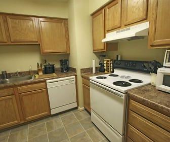 Kitchen, Wesleyan Courts Apartments